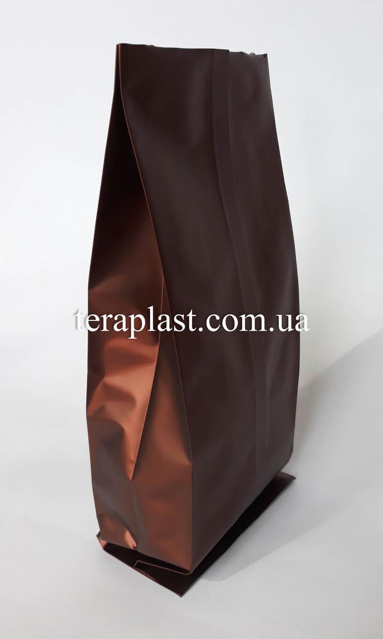 Пакет с центральным швом коричневый 1кг 135х360х35