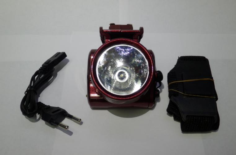 Світлодіодний ліхтарик на голову акумуляторний Yajia YJ-1898-1