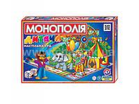 Настольная  економическая игра Детская  монополия ТехноК 6+ 0755