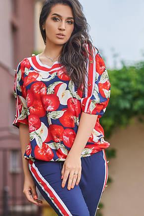 Женский костюм лето яблоки, фото 2