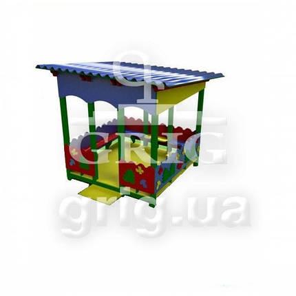 """Игровой павильон """"Природа"""" для детей уличная игровая площадка, фото 2"""