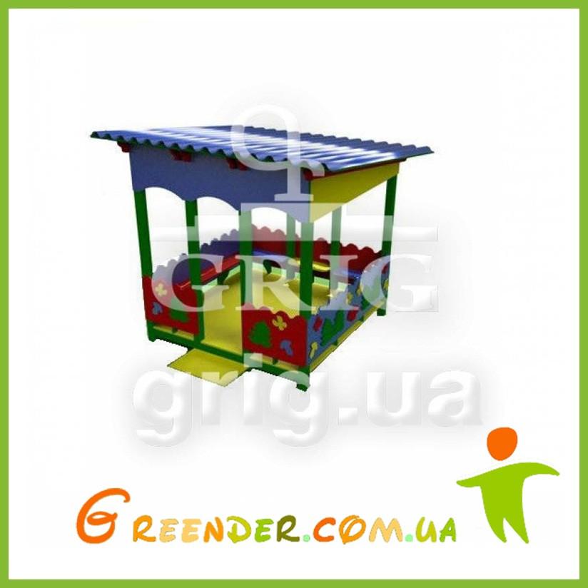 """Игровой павильон """"Природа"""" для детей уличная игровая площадка"""
