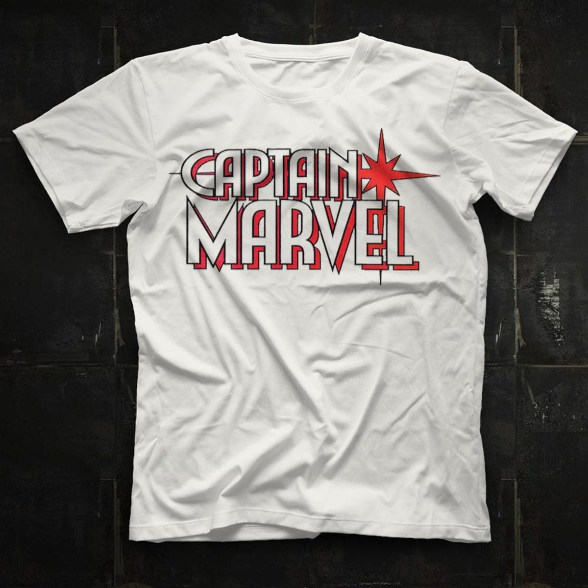 Футболка Captain Marvel унисекс