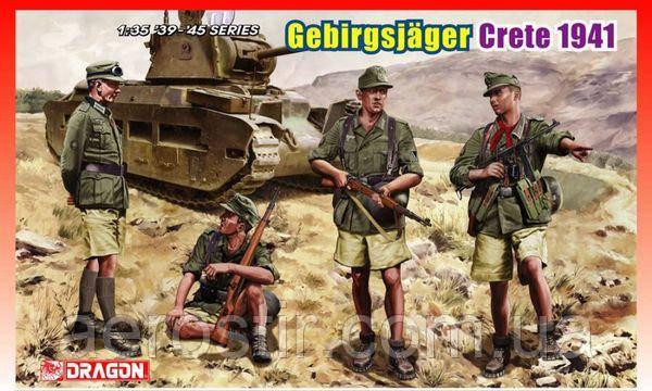 Dragon 6742 1/35 Gebirgsjägers Crete 1941