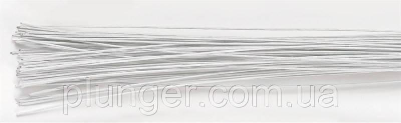 Проволока флористическая белая №24 (цена за 1 шт)