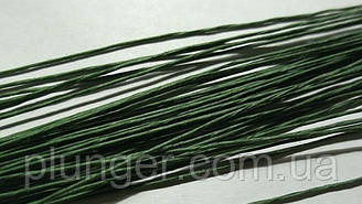 Проволока флористическая зеленая №24 (цена за 1 шт)