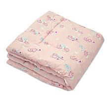 Одеяло детское шерстяное стёганное 100х140 ТМ Ярослав цвета в ассортименте, фото 3