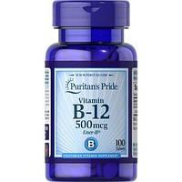Витамин B12 Puritan's Pride Vitamin B-12 500 mcg (100 tabs )
