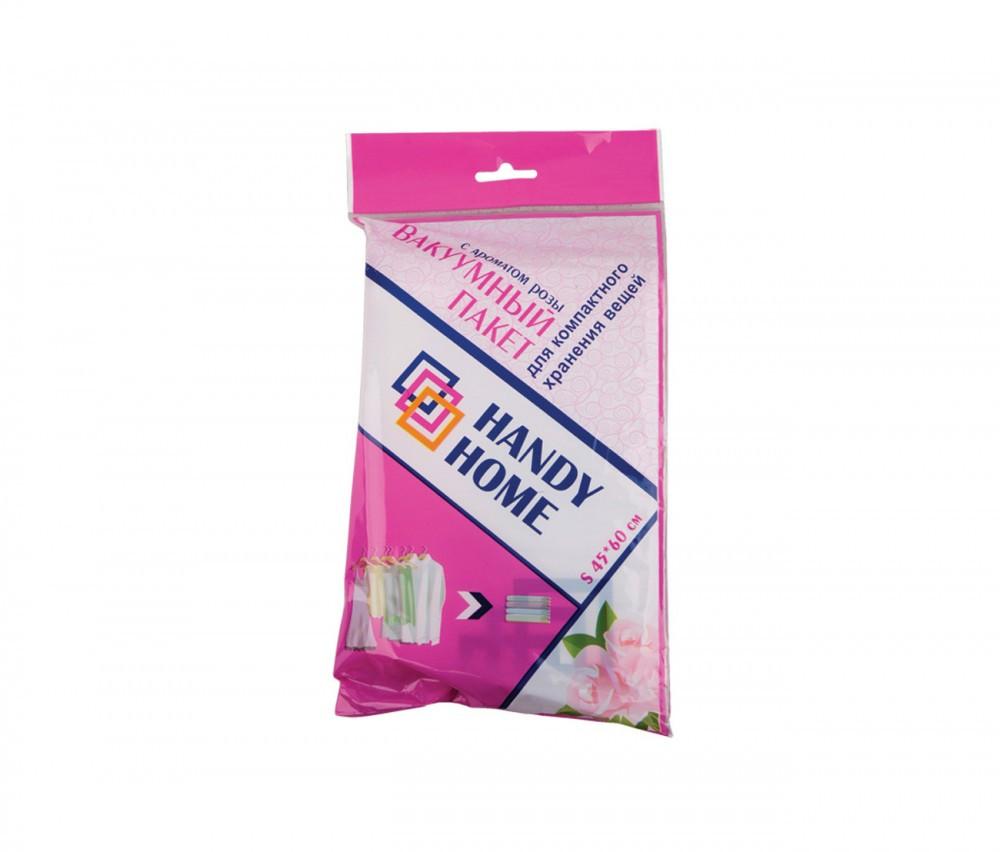 Вакуумный пакет для хранения вещей с ароматом розы 90х120см Handy-Home SVB02 XL