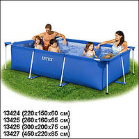 Каркасный прямоугольный бассейн Intex 58983 220x158x60 см 28270