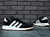 Чоловічі кросівки Adidas Iniki Runner Black White Gum BY9727, фото 3