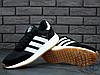 Чоловічі кросівки Adidas Iniki Runner Black White Gum BY9727, фото 5