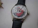 Годинник Блискавка, наручні. Механізм радянський, від кишенькової Блискавки, 3602, фото 4