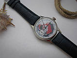 Годинник Блискавка, наручні. Механізм радянський, від кишенькової Блискавки, 3602, фото 5