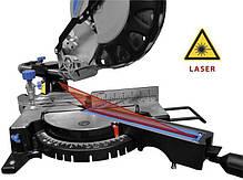 Пила дисковая торцовочная GUDE GRK 250/300 LP (1.9 кВт, 250 мм), фото 2