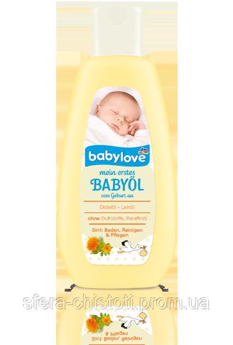 "Babylove ""Мое первое детское масло"" 3в1 Mein erstes Babyol 150ml"