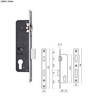 Дверной замок (10055/20-35 мм)с роликом