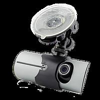 Видеорегистратор Автомобильный Car DVR R300 - GPS-2я Камерами , фото 1