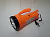 "Светодиодный аккумуляторный фонарик ""Фара"" Yajia YJ-2833, фото 2"