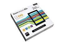 """SSD диск 240 Гб/Gb, Team L3 Evo, SATA3, 2.5"""", TLC, 530/470 MB/s (T253LE240GTC101), ссд накопитель"""