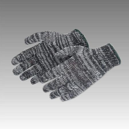 Перчатки рабочие х/б меланжевая без пвх покрытия