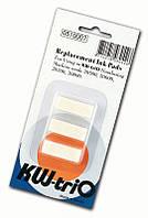 Подушка чернильная KW-triO для нумераторов 20600, 20700, 20800, набор 3 штуки (уп.)