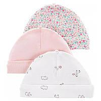 Комплект шапочек Carter's для девочек (CША)
