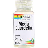 Кверцетин (с бромелайном) 600 мг 60 капс от аллергии для сосудов противовоспалительное Solaray USA