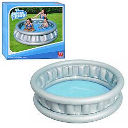Детский надувной бассейн Bestway 51080 Летающая тарелка 152х43см 512л
