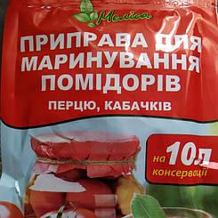 """Приправа для маринования помидоров, перца, кабачков """"Мелиса"""""""