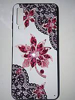 Накладка с рисунком   Guipure Desing для Samsung A7  2018 / A750