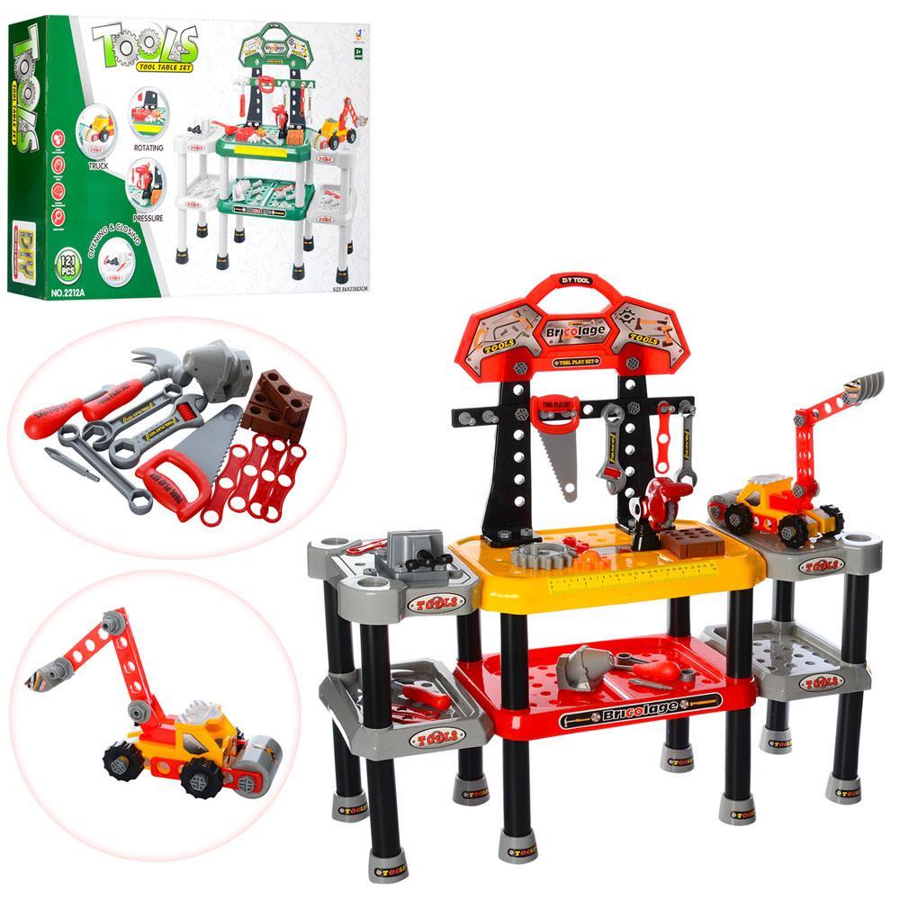 Набор инструментов Bambi 2212-12A Красный/Зеленый