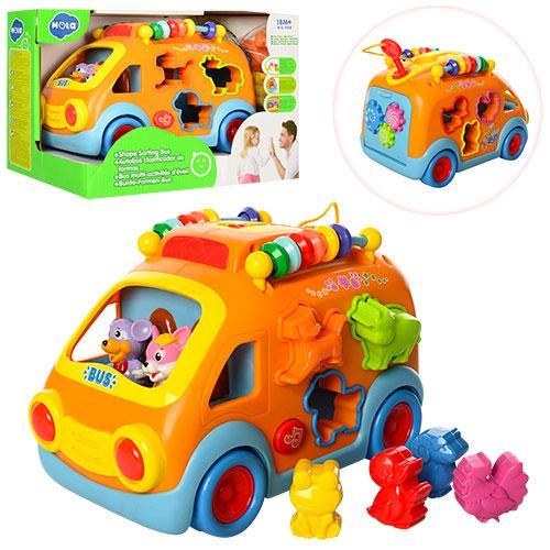 Розвиваюча іграшка-сортер HOLA 988 Автобус