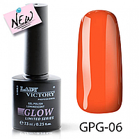 Люминисцентный гель-лак Lady Victory GPG-06, 7.3 мл