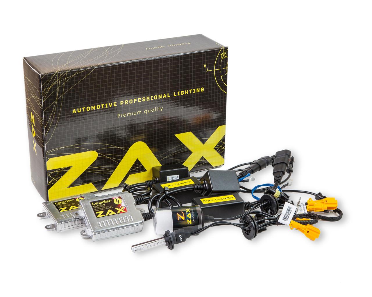 Комплект ксенона ZAX Leader Can-Bus 35W 9-16V H27 (880/881) Ceramic 8000K