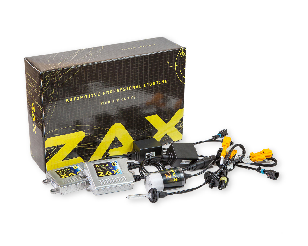 Комплект ксенона ZAX Truck 35W 9-32V H27 (880/881) Ceramic 6000K