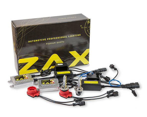 Комплект ксенона ZAX Leader Can-Bus 35W 9-16V D2S +50% Metal 5000K (hub_gAPS54718), фото 2