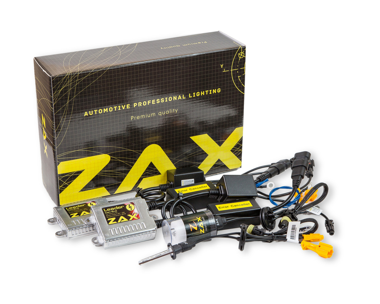 Комплект ксенона ZAX Leader Can-Bus 35W 9-16V H1 Ceramic 3000K