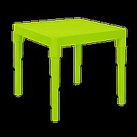 Стол Альф квадратный нью оливковый (Алеана)