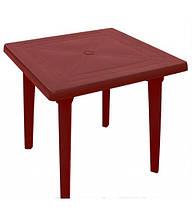 Стол квадратный вишневый (Алеана)