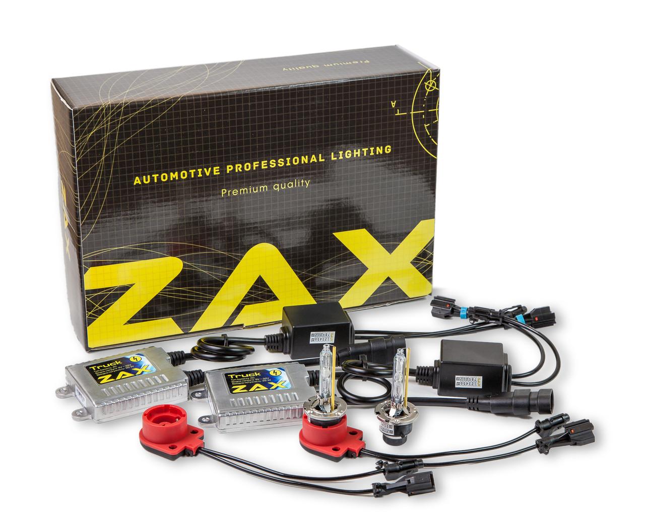 Комплект ксенона ZAX Truck 35W 9-32V D2S +50% Metal 4300K (hub_qktE22127)