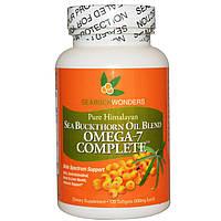 Омега 7 (Omega 7)  облепиха SeaBuckWonders 500 мг 60 капсул