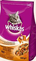 Корм вискас  вкусные подушечки для взрослых котов с курицы 14кг