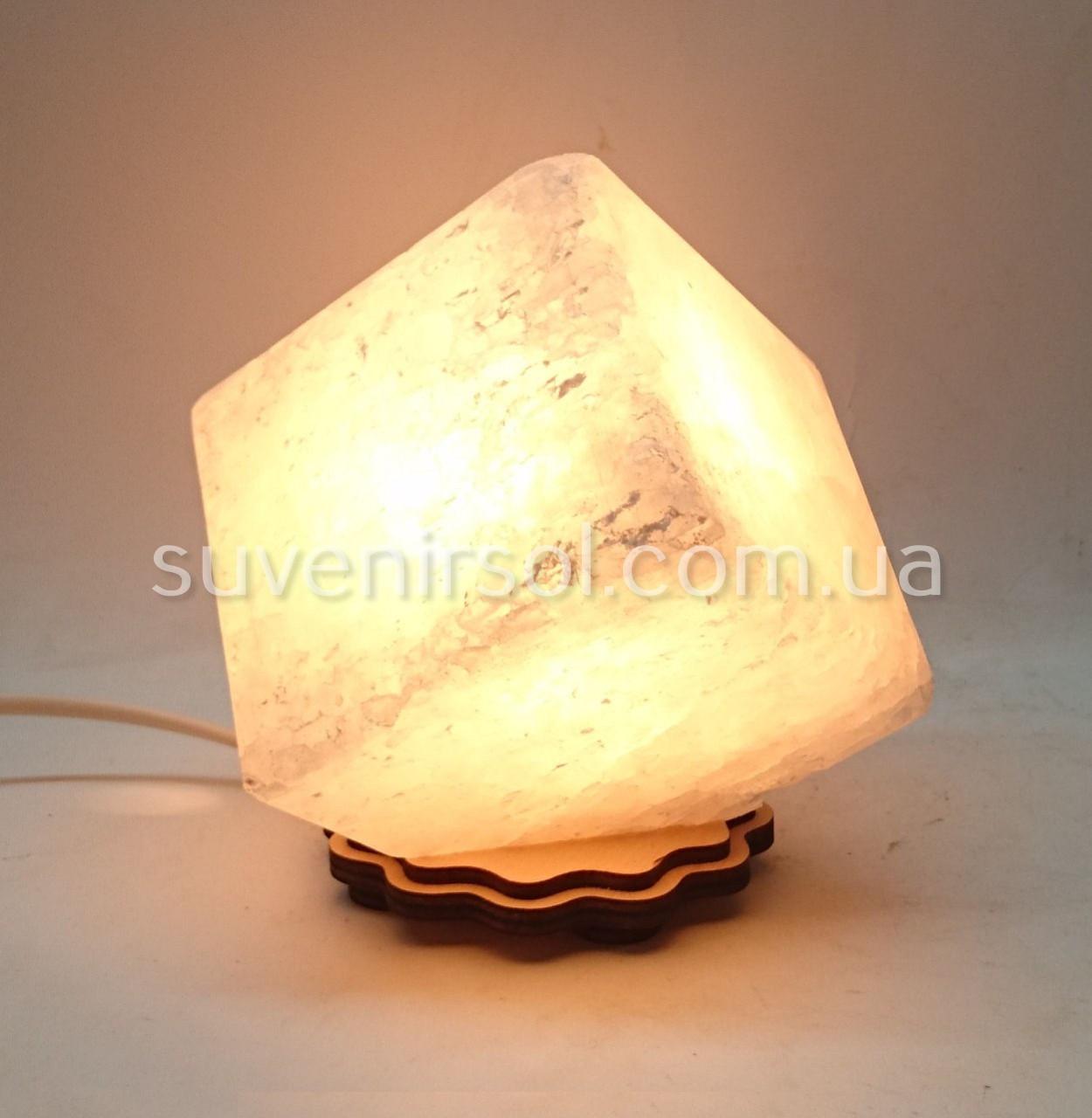 Соляной светильник Куб