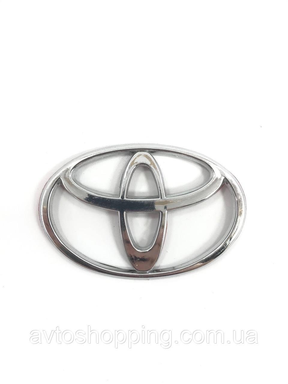 Значок емблему на капот,багажник Тойота Toyota 96*65 мм