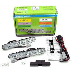 Дневные ходовые огни DRL-HP-L6 на 6 светодиодов ДХО