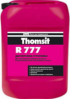 Грунтовка Thomsit R 777 10л, дисперсионный грунт для впитывающих бетонных и цементно-песчаных оснований