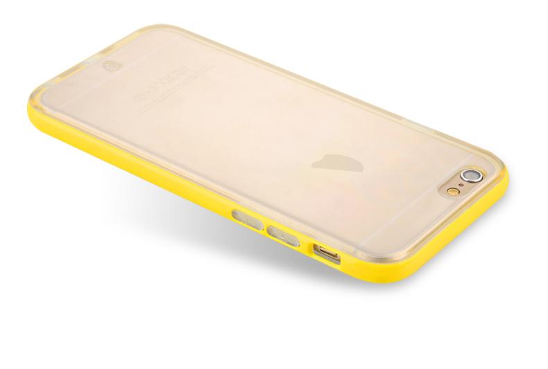 Чехол для Apple iPhone 6/6s Yellow Double Protection
