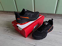 Мужские кроссовки Nike Air Zoom Pegasus 30X Black Orange черные с оранжевым эксклюзив 2019