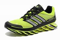 Мужские кроссовки Adidas Springblade (адидас спрингблейд) салатовые